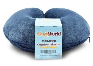 50% OFF Today -The Comfort Master Is The BEST Travel Pillow For Airplane, Bus, Train, Car or Home Use
