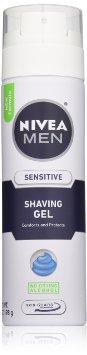 NIVEA Men Sensitive Shaving Gel