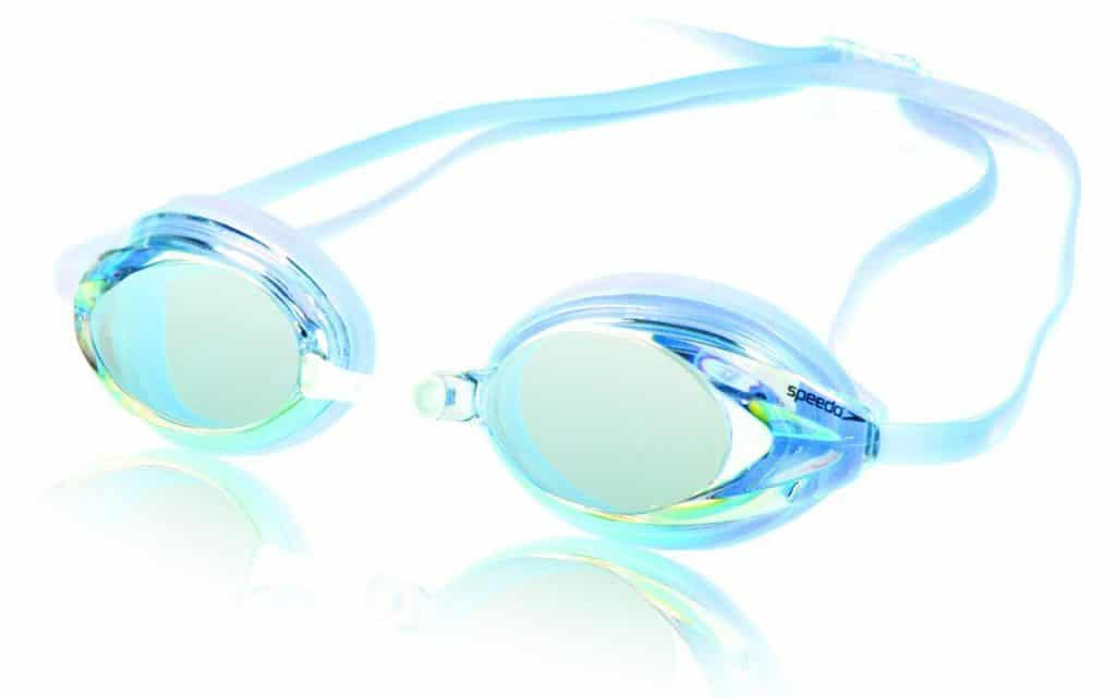 Speedo Women's Vanquisher Mirrored Swim Goggle