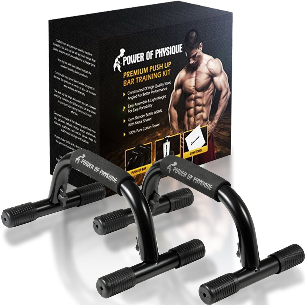 Of Physique Push Up Bar Training Kit