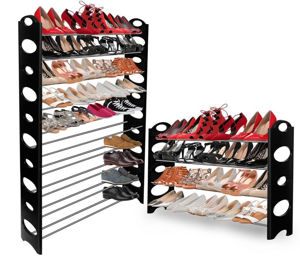 OxGord Shoe Rack Storage Organizer