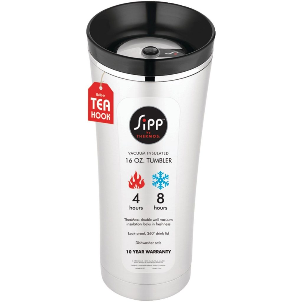 Thermos 16 Ounce Vacuum Insulated Travel Mug