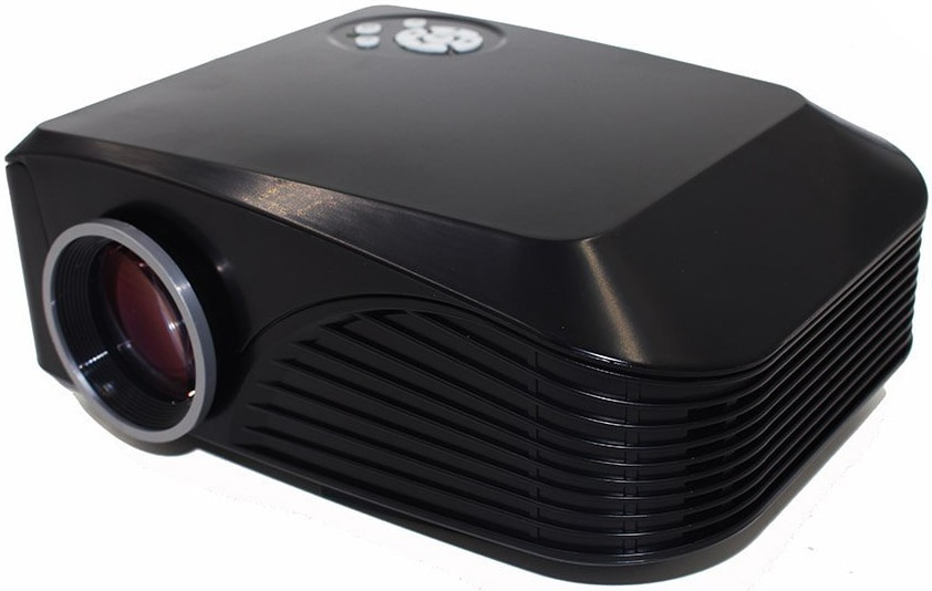 Mini LED Projector 1000 lumens 800*480 Multimedia Beamer Portable Home Theatre Projectors support