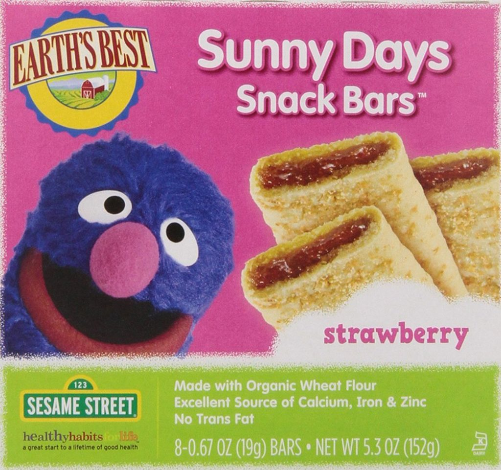 Earth's Best Organic Sunny Days Snack Bars
