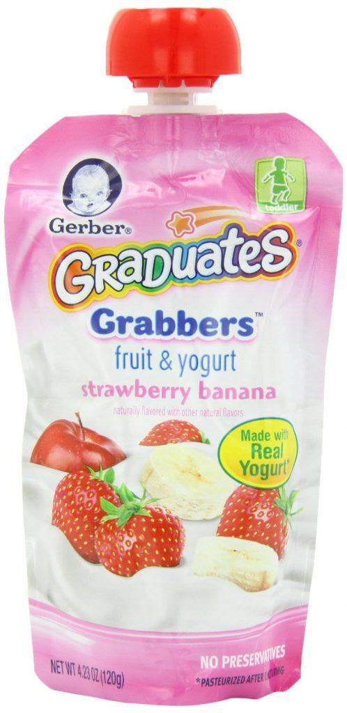 Gerber Graduates Grabbers Fruit