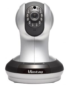 Vimtag (Fujikam) 361 HD, IP/Network ,Wireless, Video Monitoring, Surveillance, security camera,plug/play, Pan/Tilt with Two-Way Audio and Night Vision