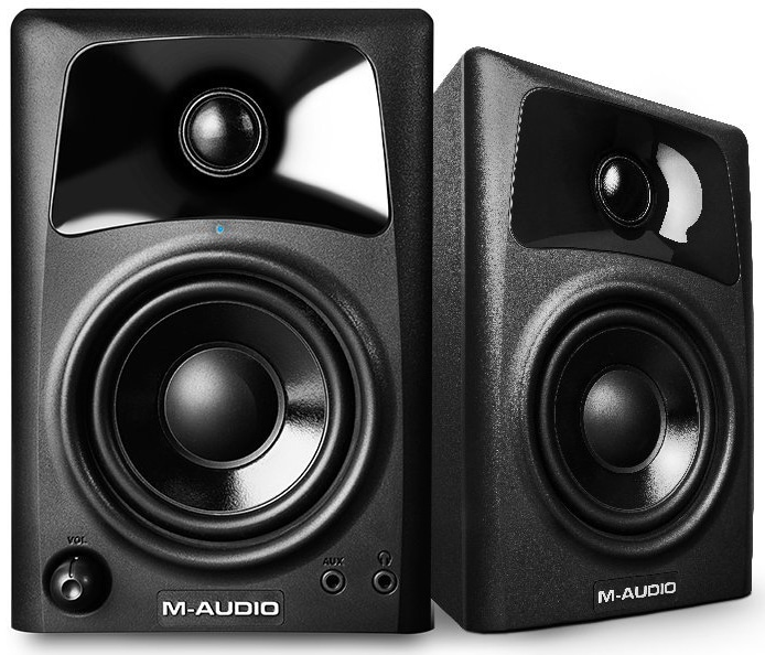 M-Audio AV32 10-Watt Professional Studio Monitor Speakers with 3-inch Woofer (Pair)