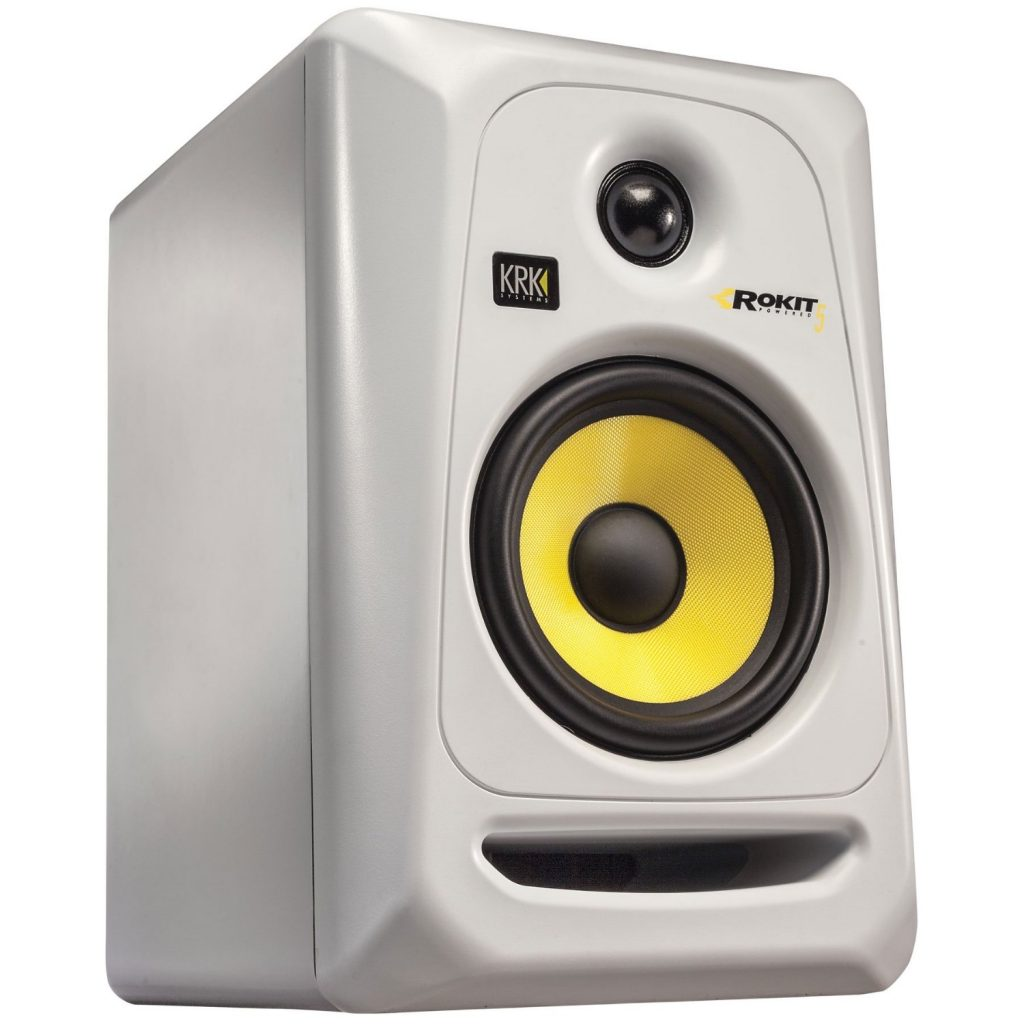 "KRK RP5G3 5"" High Performance Studio Monitor (White)"