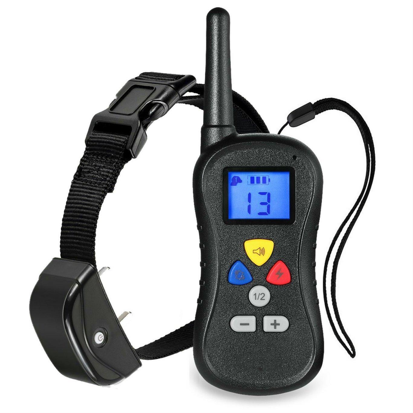 JJX-TECH™ Wireless LCD Remote Dog Training Collar