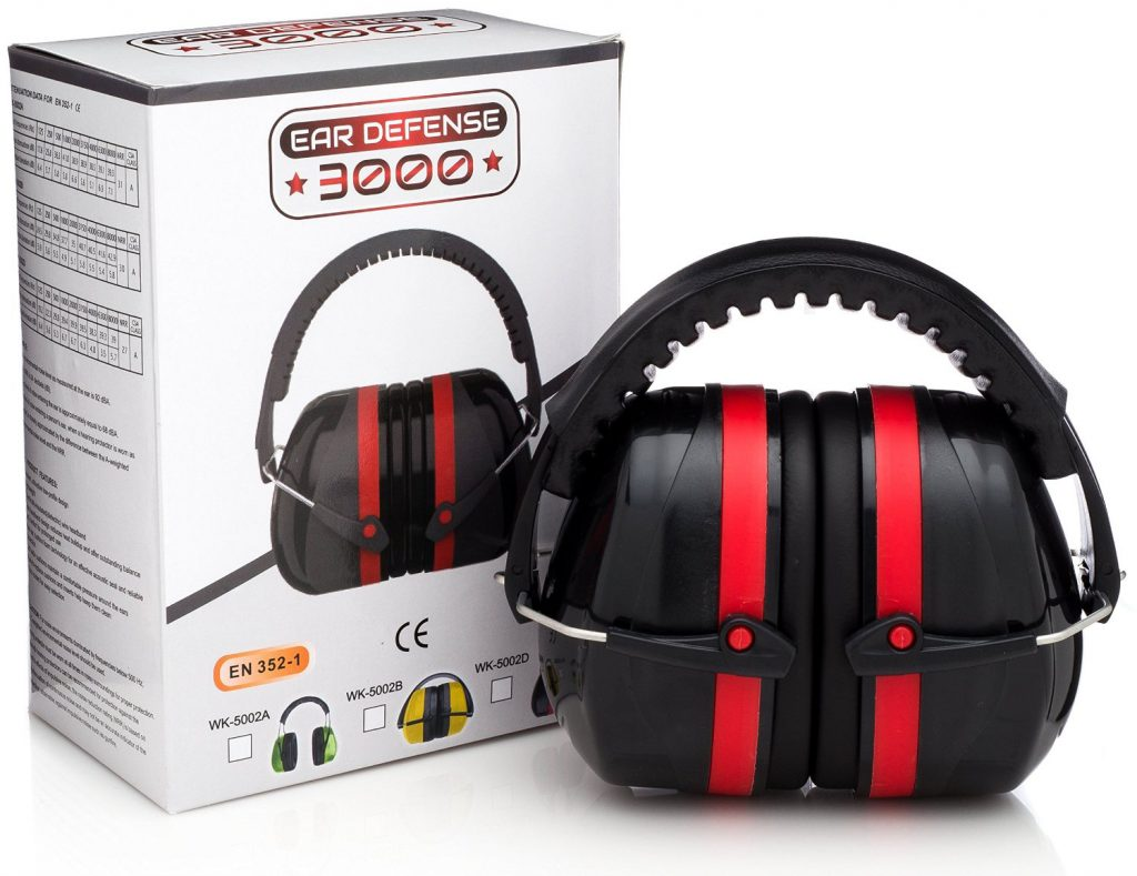 Ear Defense 3000 America's Favorite Hearing Protection for Industrial and Shooting Ear Protection