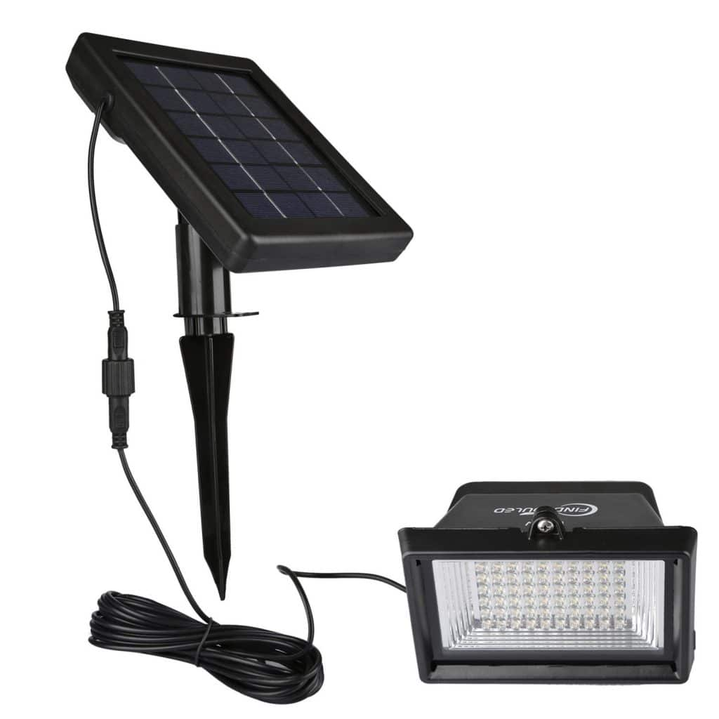 Findyouled Solar Floodlights Outdoor Landscape Lighting
