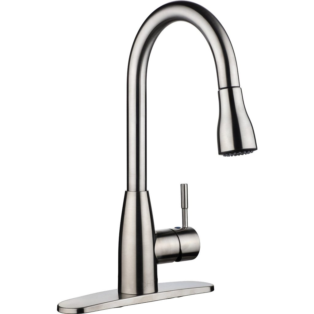 Top 10 best kitchen faucets reviewed in 2016 for Best kitchen sinks and faucets