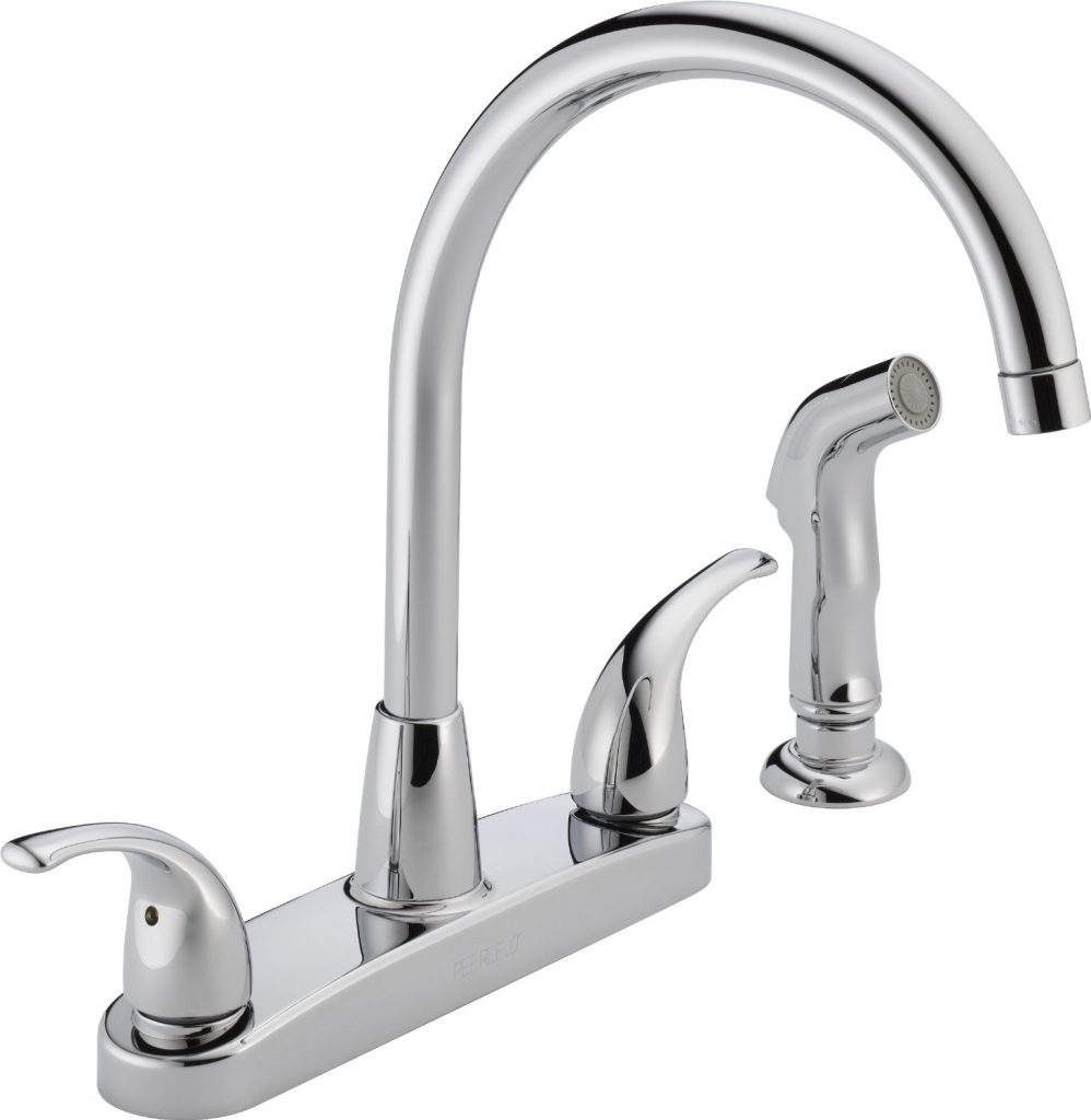 top 10 best kitchen faucets reviewed in 2016 peerless p299578lf choice two handle kitchen faucet