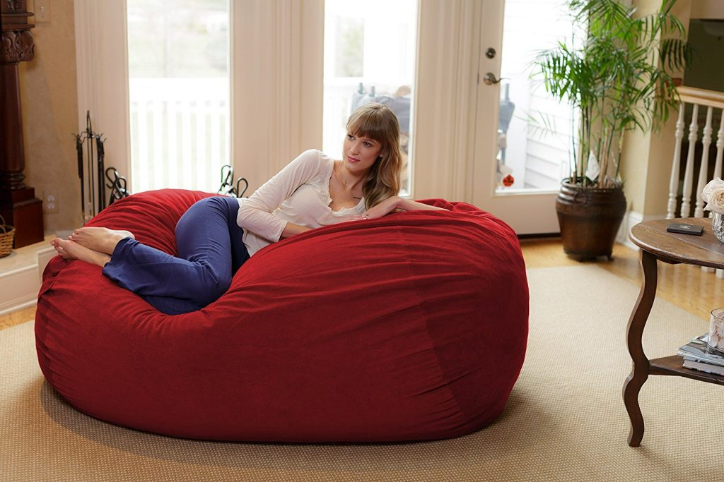 Chill Bag – Bean Bags Large Bean Bag Lounger 6' - Top 10 Comfiest Bean Bags