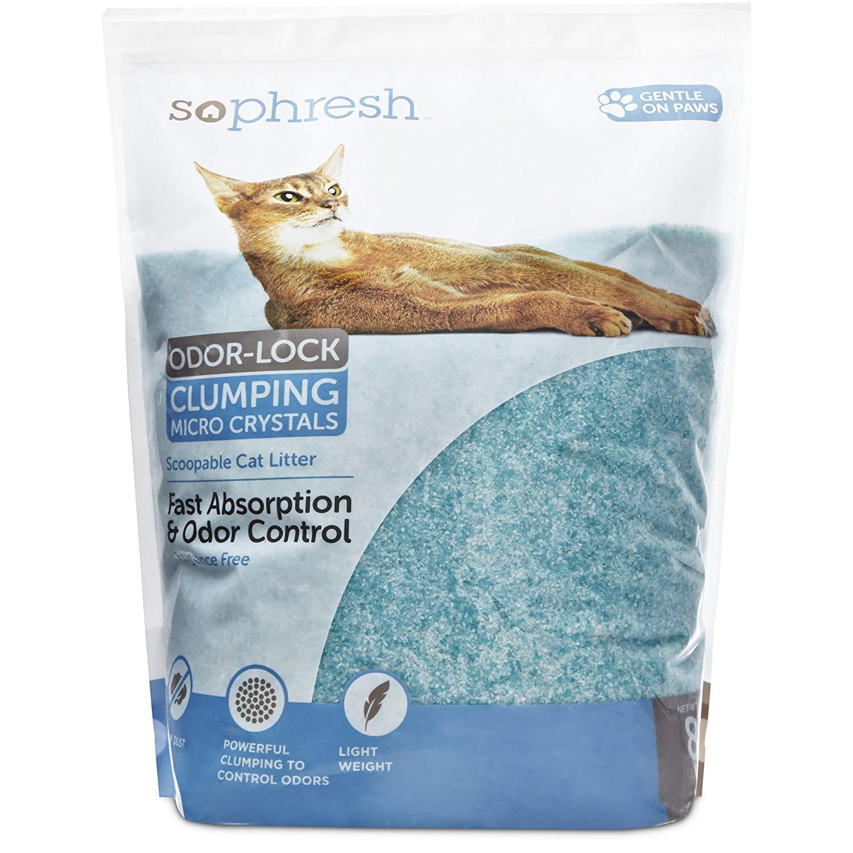 Phresh Scoopable Odor-Lock cat litter