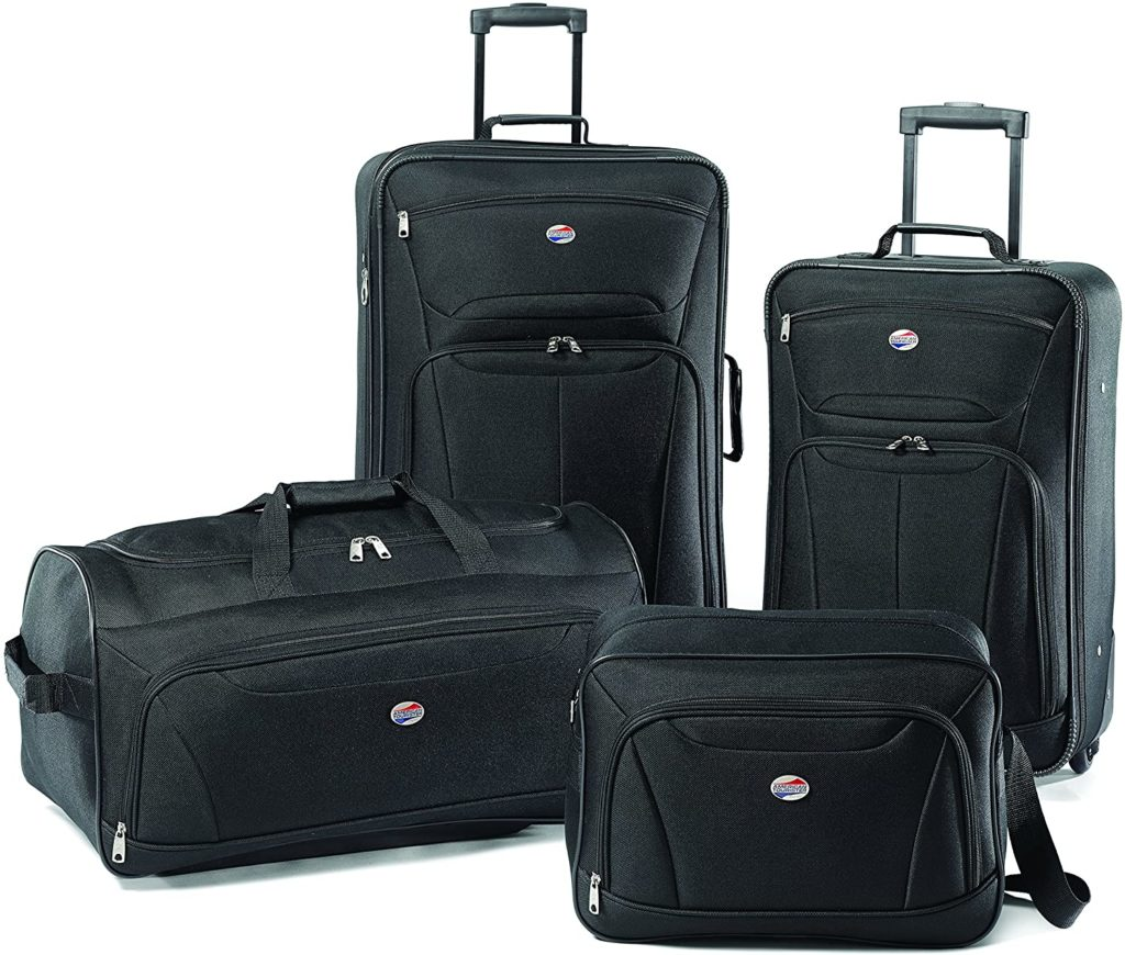 American Tourister Fieldbrook II Softside Upright Luggage Set