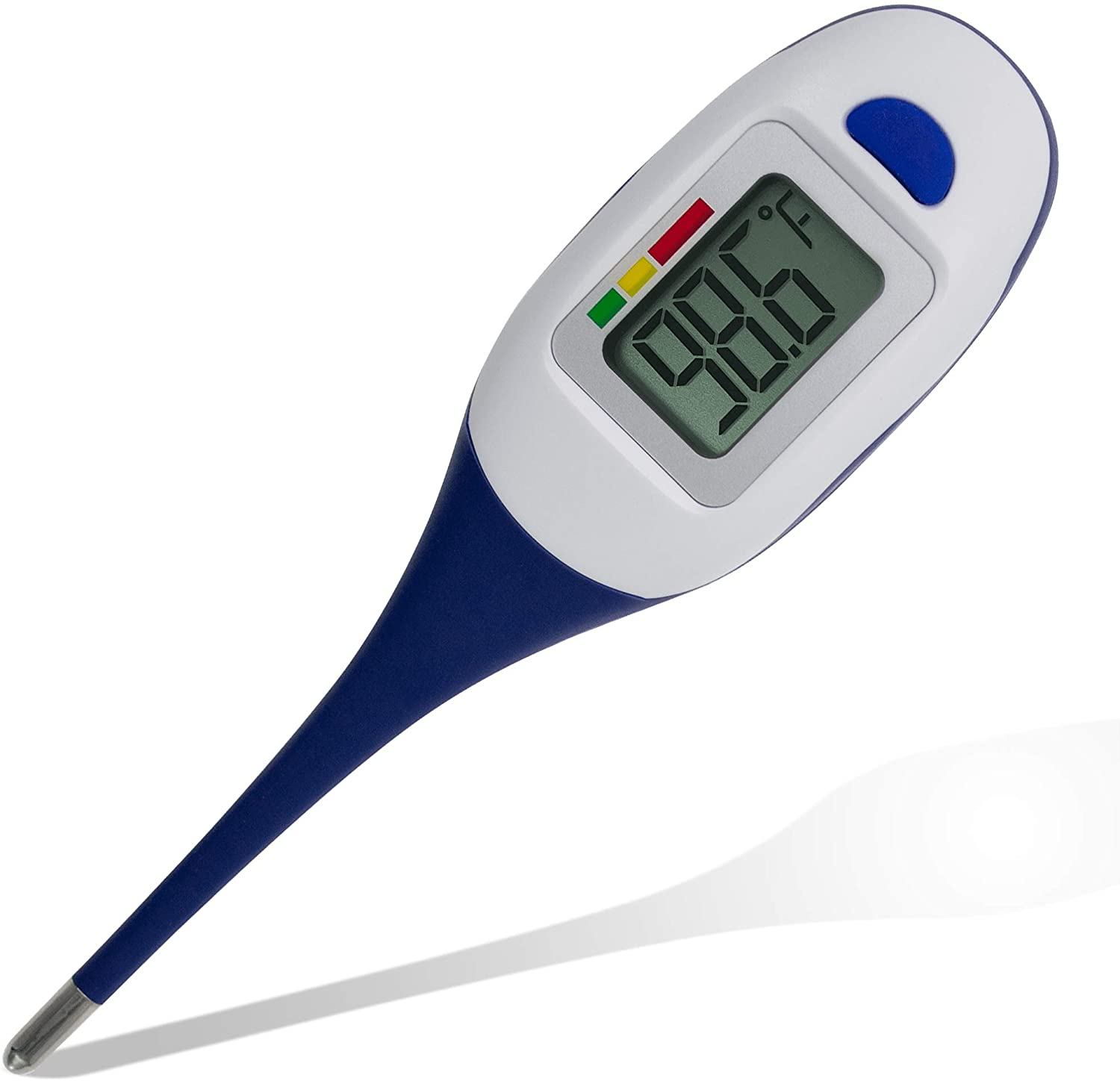 Apex Large Face LCD Fast Read Digital Thermometer for Adults and Children