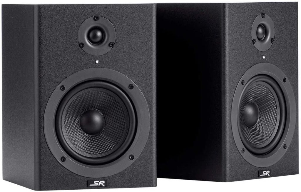 Monoprice Stage Right 5-inch Powered Studio Multimedia Monitor Speakers