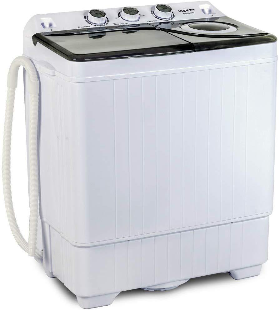 KUPPET Compact Twin Tub Washing Machine