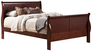 Alpine Furniture 2700Q Sleigh Bed