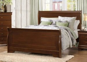 Homelegance Abbeville Queen Sleigh Bed