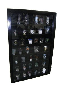 Pennzoni Display Shot Glass Case