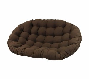 Premium Solid Twill Double Papasan Chair Cushion