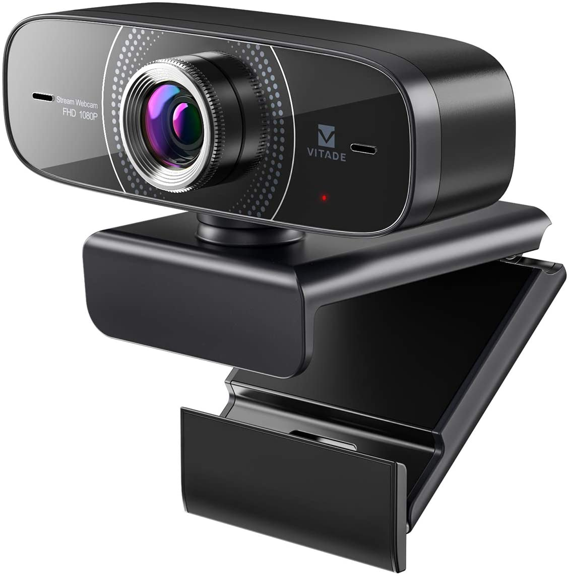 Vitade Webcam 1080P with Microphone HD Web Cam
