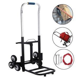 BestEquip 330 LBS Capacity Stair Climber Cart