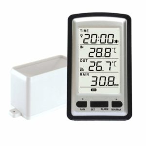 EUGNN Rain Gauge Digital Weather Instrument