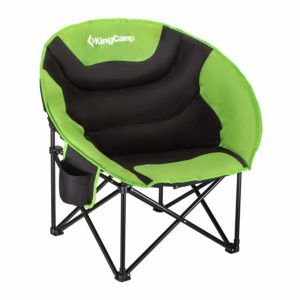 KingCamp Camping Folding Round Chair