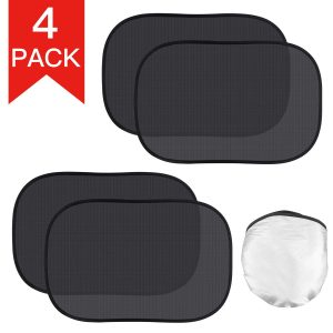 Kribin 4 Pack Car Window Shade