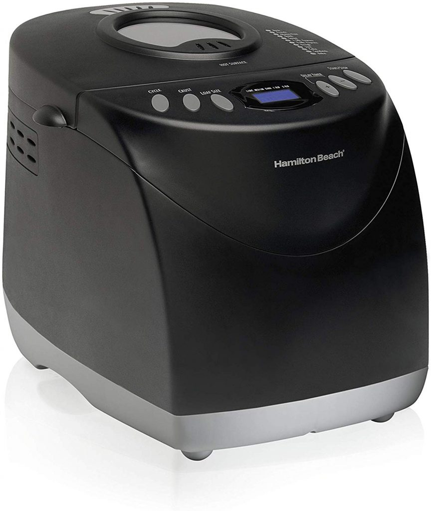Hamilton Beach 2 lb Digital Bread Maker, Programmable