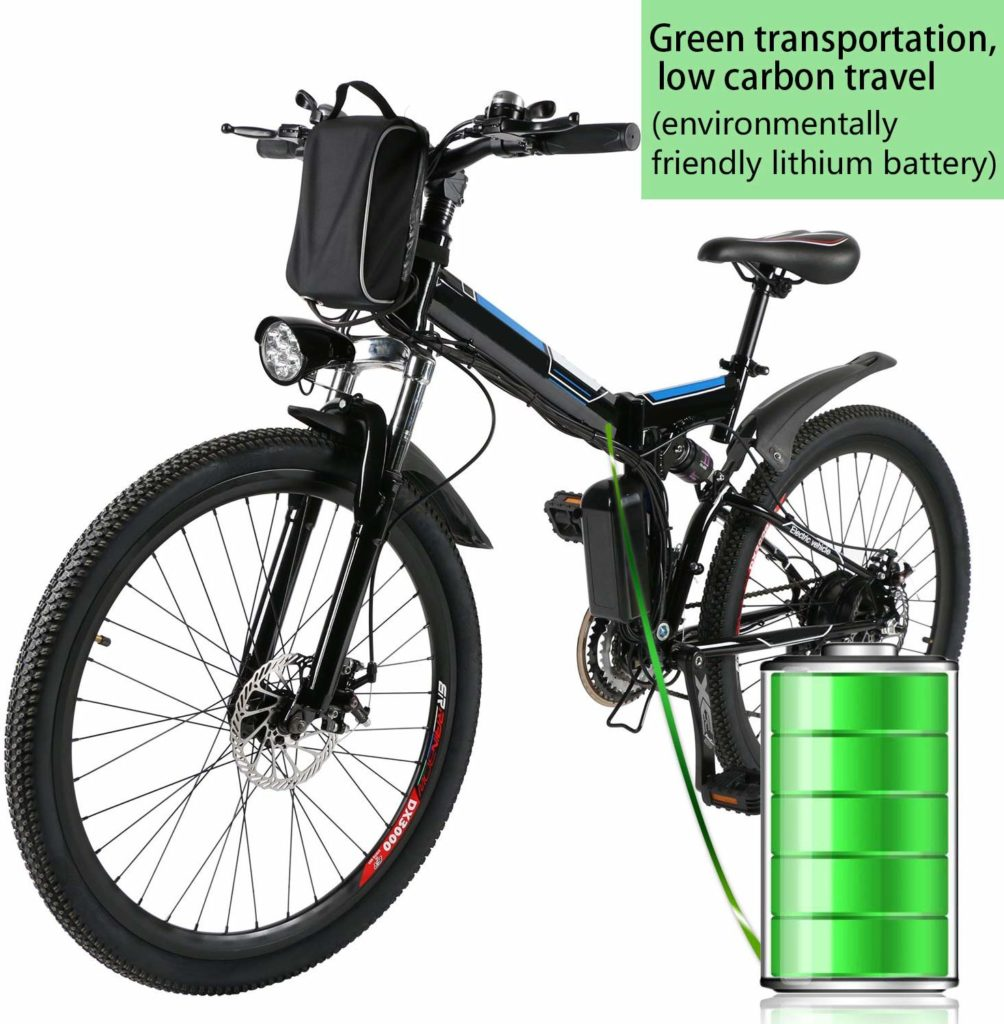 Kemanner 26 inch Electric Mountain Bike for Adult