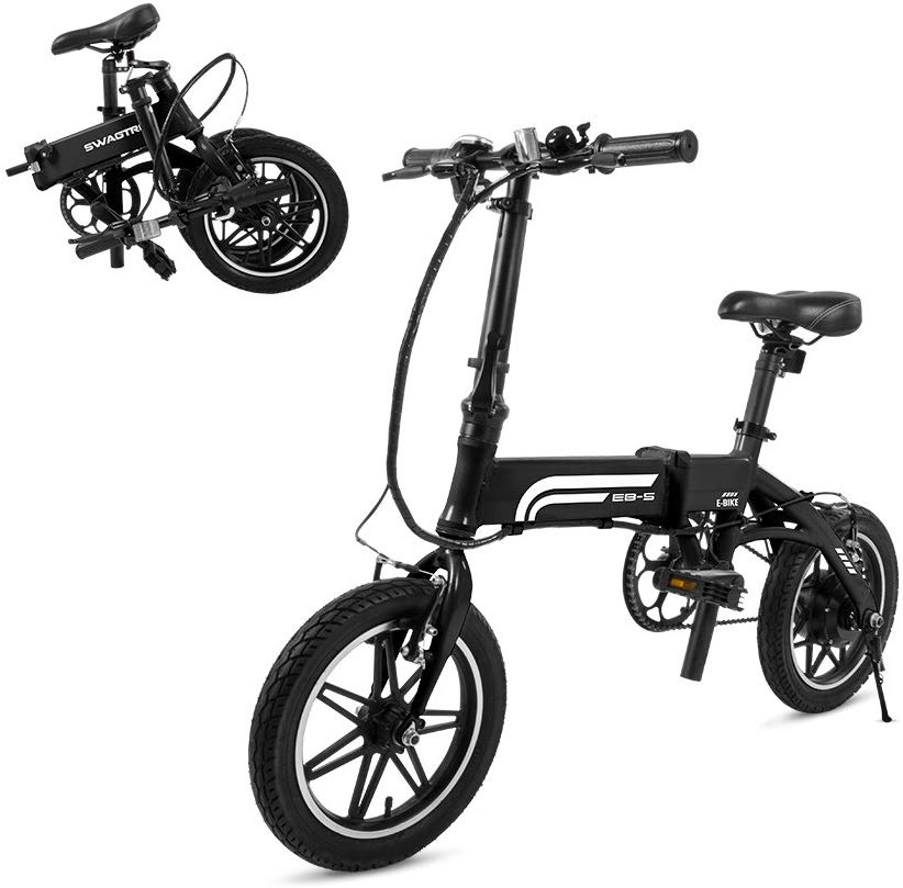 SwagCycle EB-5 Pro Lightweight and Aluminum Folding EBike