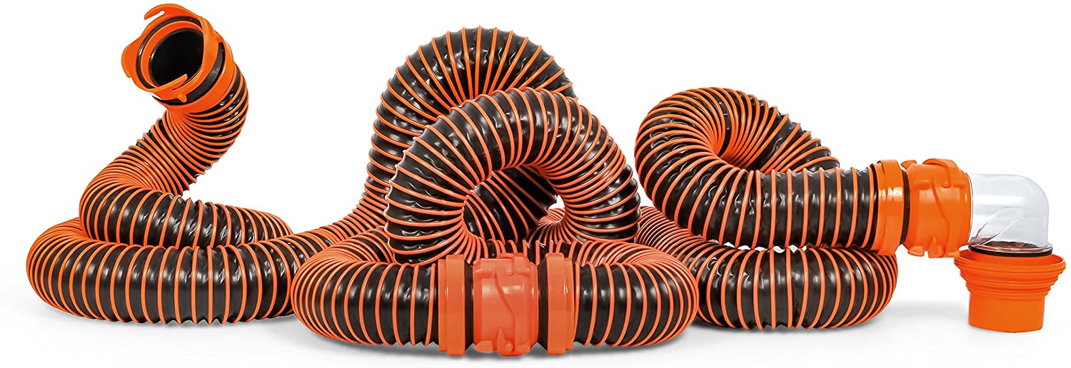Camco RhinoEXTREME 20ft RV Sewer Hose Kit (21012)