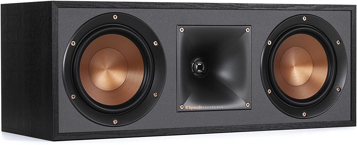 Klipsch R-52C Powerful, detailed Center Channel Home Speaker