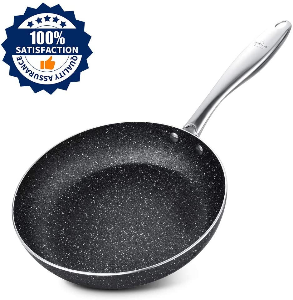 Stone-Derived Fry Pan