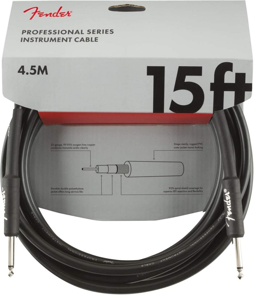 Fender Professional 15' Instrument Cable