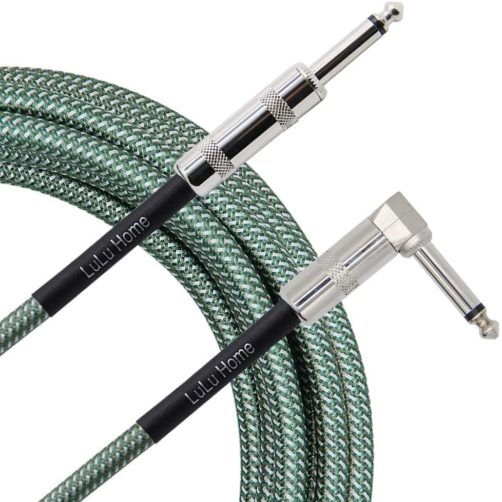 Lulu Home 10 Feet Guitar Cable, Professional Instrument Cable