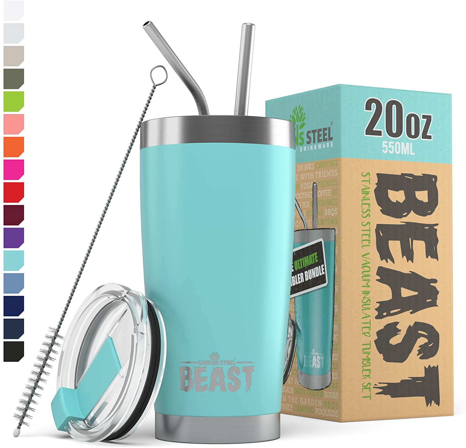 BEAST 20oz. Tumbler Insulated Stainless Steel