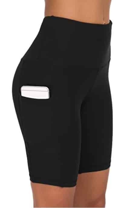 Custer's Night High Waist Out Pocket Yoga Pants