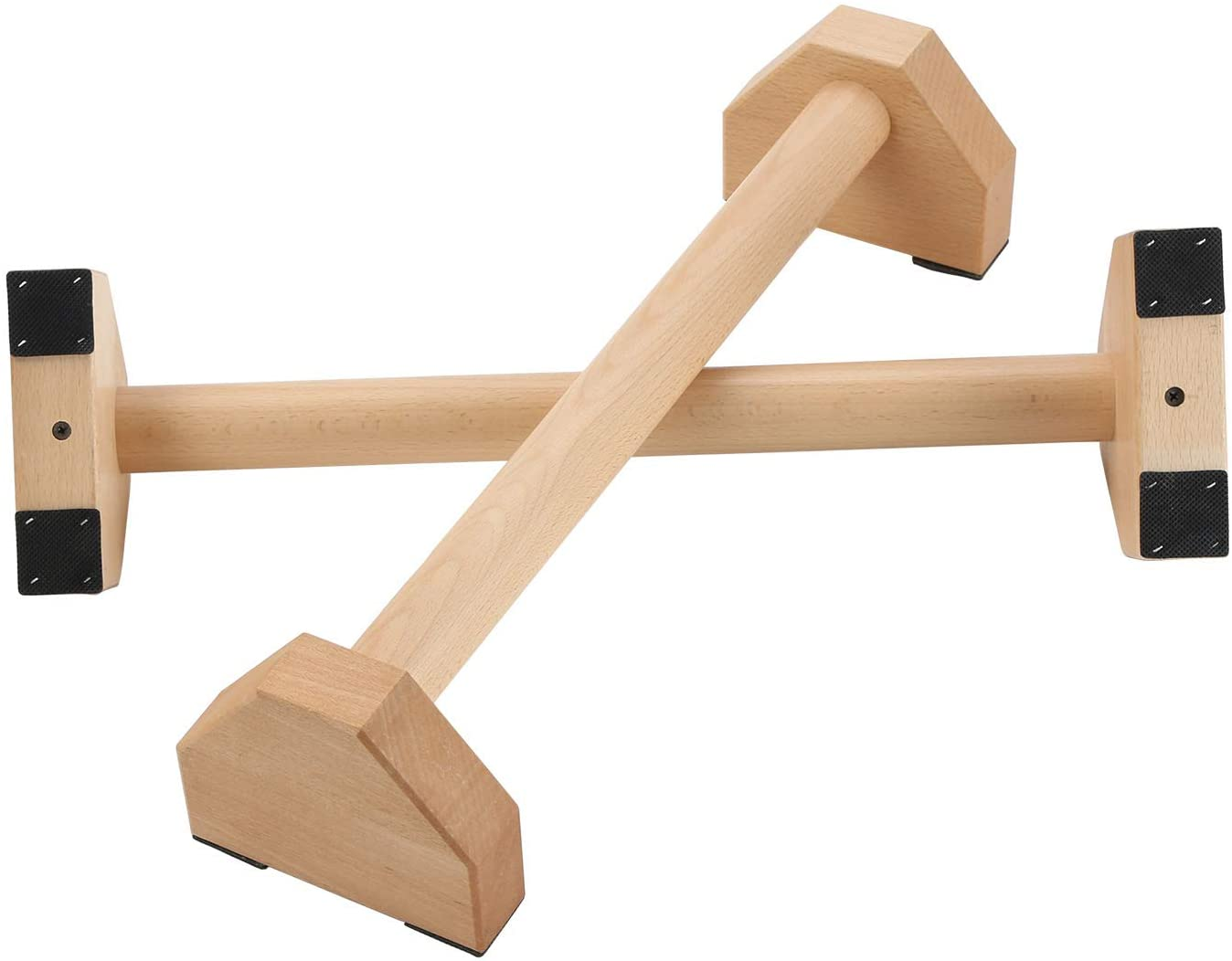 PELLOR Pushup Stands Wooden