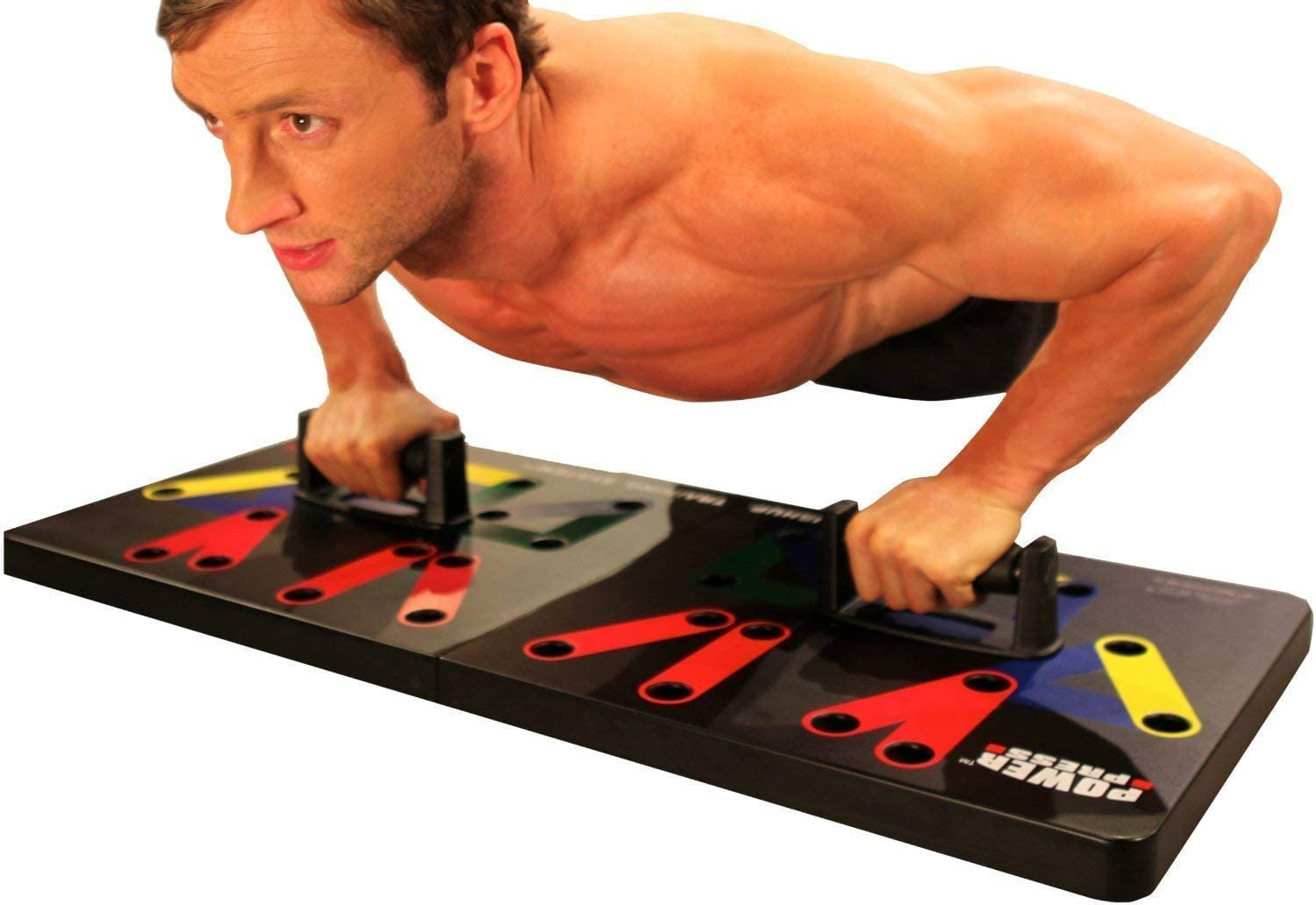 Power Press Original Push Up ~ Color-Coded Wide Push Up Board System