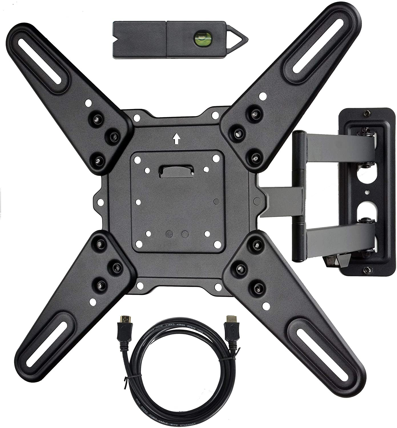 VideoSecu ML531BE2 TV Wall Mount kit with Free Magnetic Stud Finder