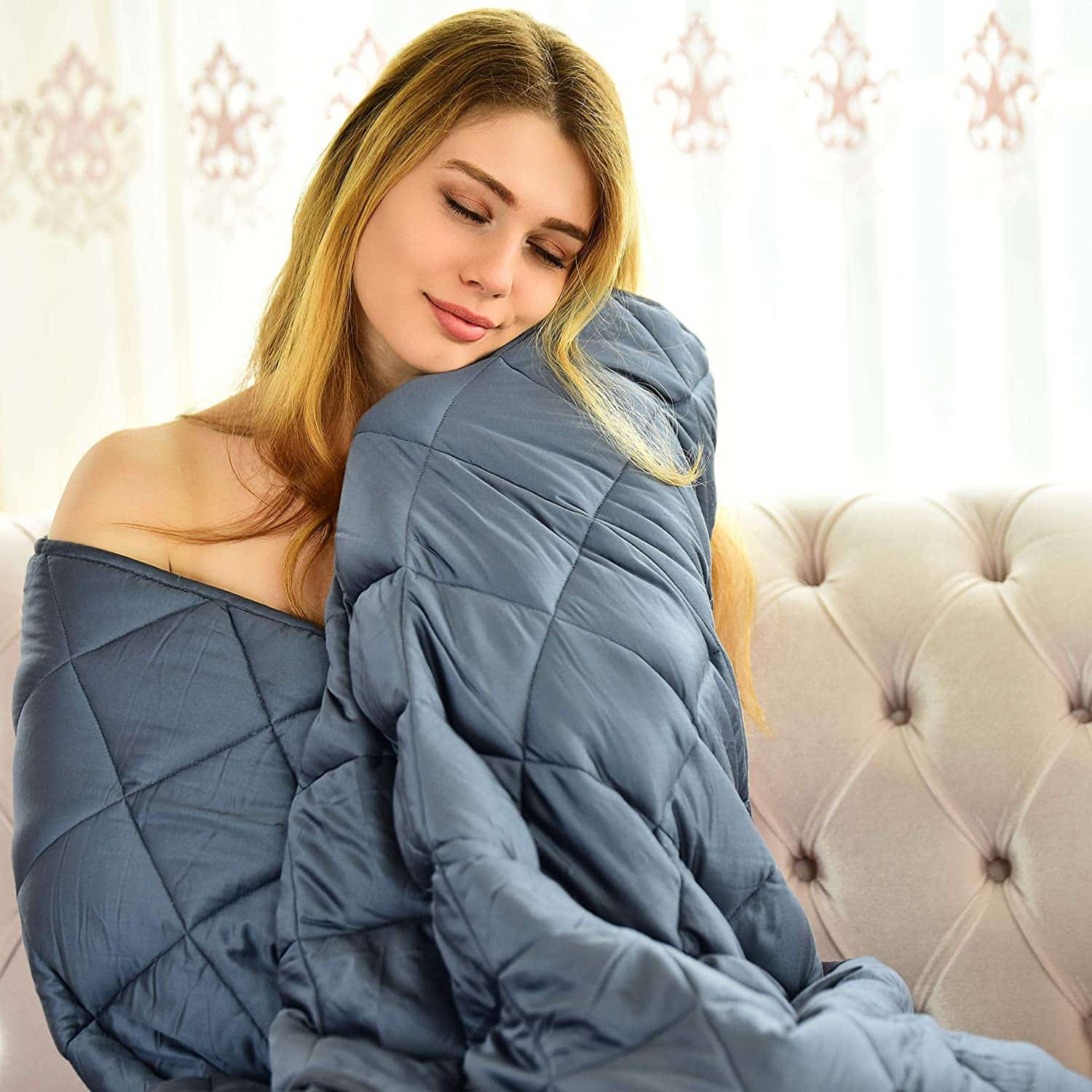 WONAP Bamboo Weighted Blanket Adult