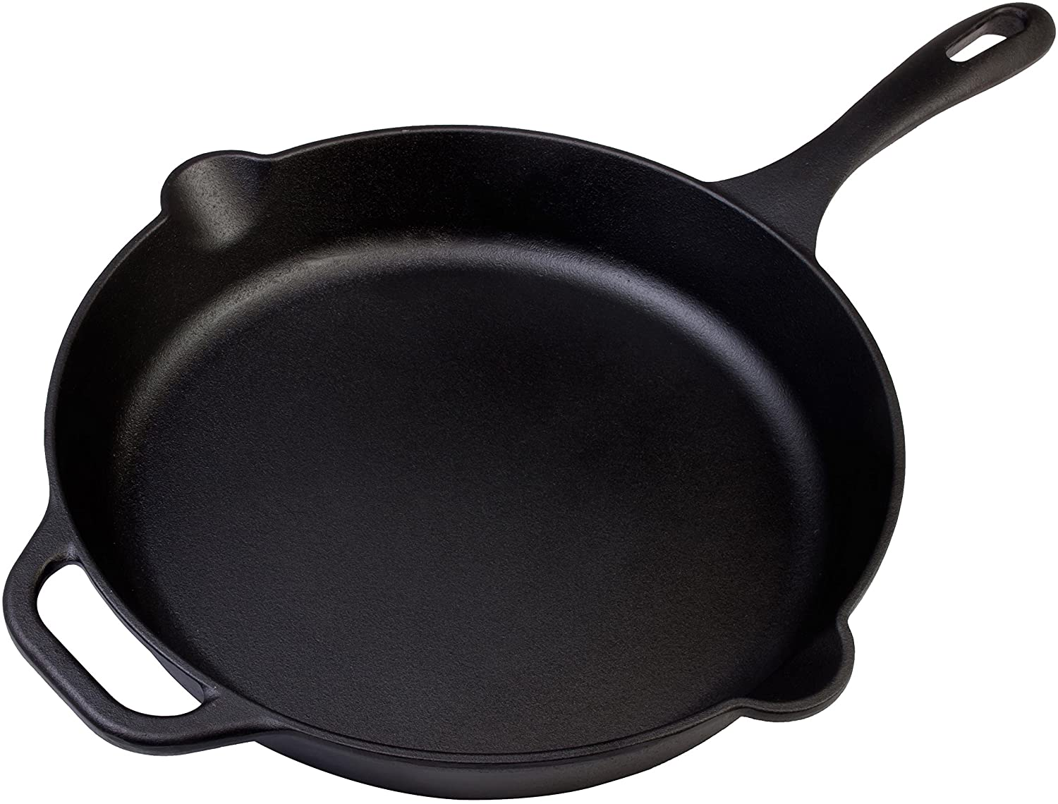 Victoria Cast Iron Skillet Large Frying Pan